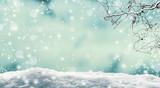 Fototapety schneelandschaft, winterlandschaft, hintergrund