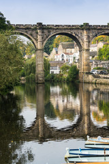 Railway Viaduct, Knaresborough, Yorkshire UK
