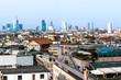 Skyline of Milan, in Italy