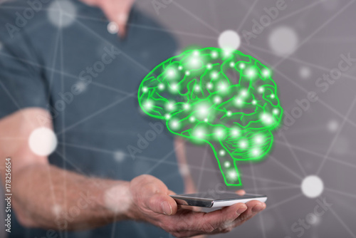 Concept of artificial intelligence Poster