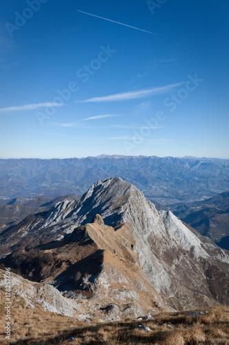 Deurstickers Toscane Apuan Alps - Pania Secca