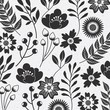 flower seamless pattern natural ornamental texture with flourish decoration - 178262068