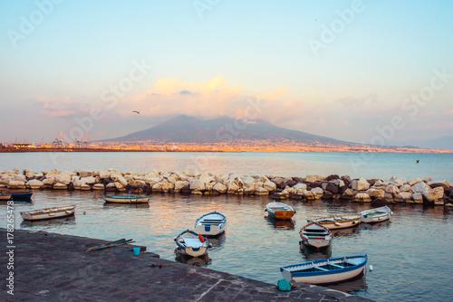 Foto op Canvas Napels Vesuvius