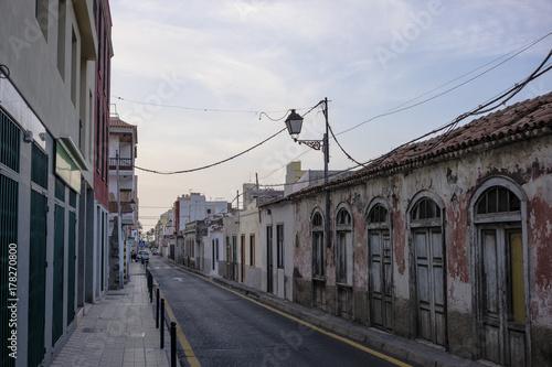 Foto op Canvas Canarische Eilanden Cityscape streets in La Gomera, Canary Islands