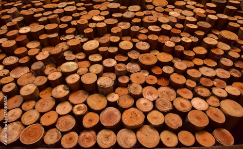 Wood texture background for interior, construction concept design. - 178301606