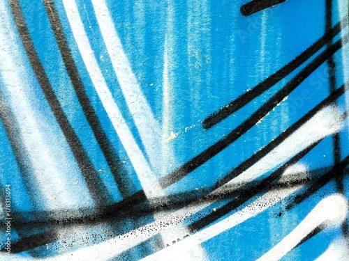 Street art - graffiti peinting Poster