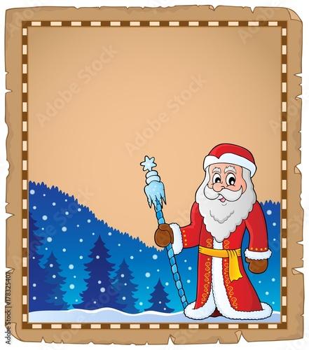 Papiers peints Enfants Father Frost theme parchment 6