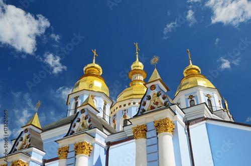 Foto op Plexiglas Kiev Saint Michael Goldentopped Cathedral in Kyiv