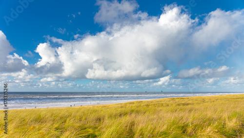 Fotobehang Noordzee Beach of Egmond aan Zee