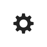 Gear Icon Vector Isolated - 178359686