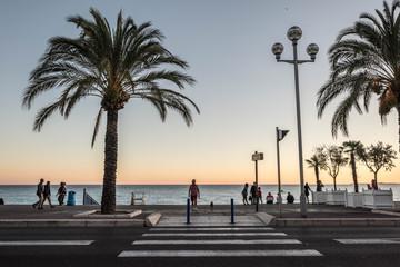 night French city of Nice