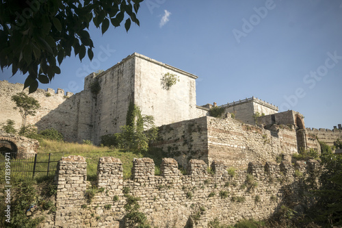 Istanbul's old city walls