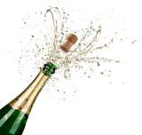 Celebration With Splashes Of Champagne - 178402236