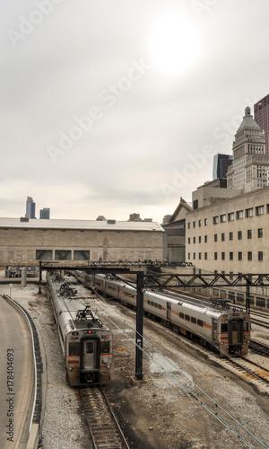 Aluminium Chicago Train to chicago