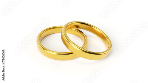 © PixlMakr - Fotolia.com Two gold wedding rings