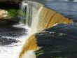 Jagala waterfalls in Estonia