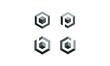 cube icon logo illustration