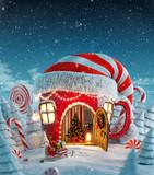 Fototapety Amazing fairy house