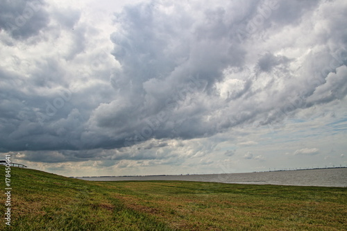 Fotobehang Noordzee Dollard Nordsee in Ostfriesland