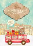 Merry Christmas Greeting Card - 178482067