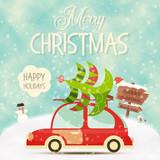Xmas Poster Winter Holidays - 178482083