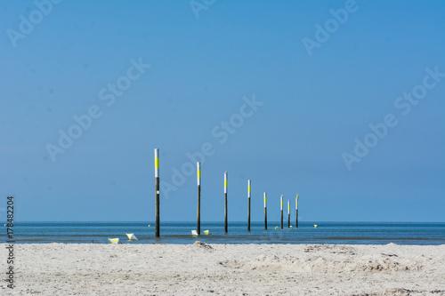 Fotobehang Noordzee Nordseeküste