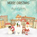 Merry Christmas Greeting Card - 178482497