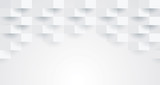 White abstract background.  - 178484847