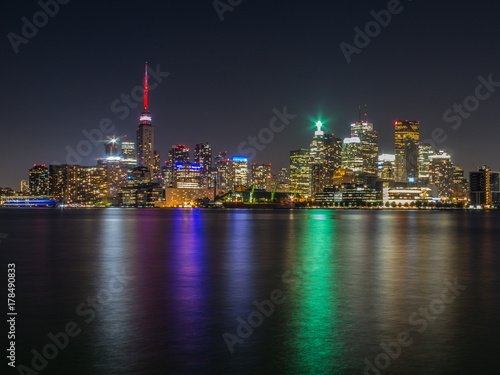 Foto op Aluminium Toronto Downtown Toronto Night View