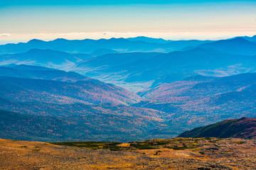 View from Top, Washington Mountain, New Hampshire, USA