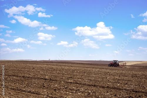 Foto op Plexiglas Cappuccino agriculture landscape