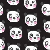 cute animal pattern vector illustration - 178501059