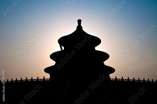 Foto op Canvas Peking Hall of Prayer for Good Harvests at the Temple of Heaven complex, Beijing, China