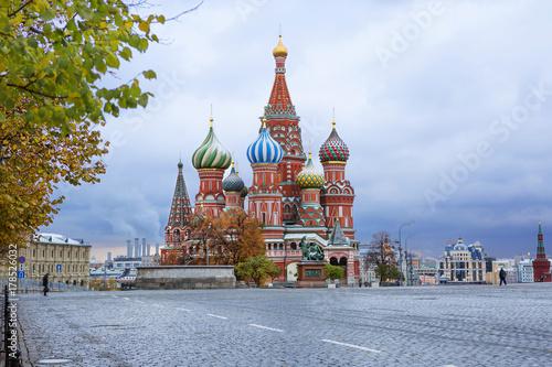 Papiers peints Moscou Храм Василия Блаженного на Красной Площади в Москве.