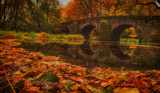 Nisterbrück im Herbst