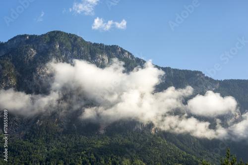 Fotobehang Lente Beautiful mountains with cloud