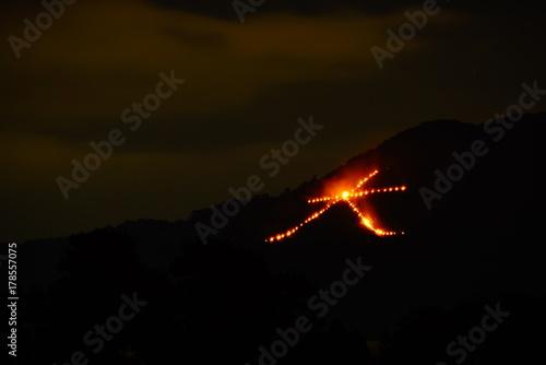 Papiers peints Kyoto 京都 五山の送り火 大文字
