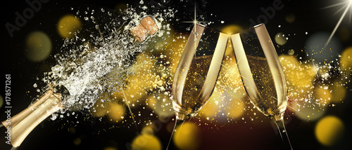 Champagner zum Fest - 178571261
