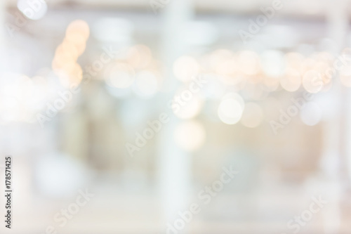 blur image background of shopping mall - 178571425
