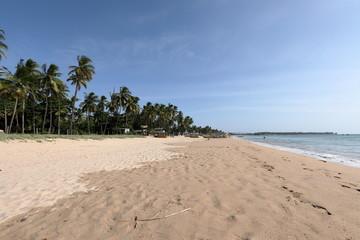 Der Strand von Trincomalee in Sri Lanka