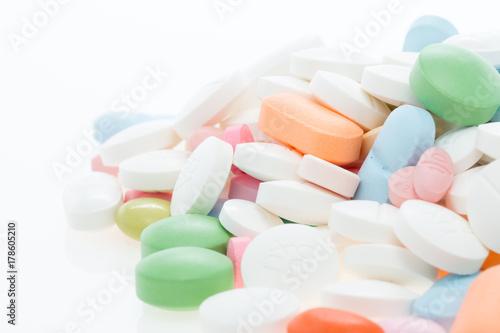Fotobehang Apotheek Blister tablets