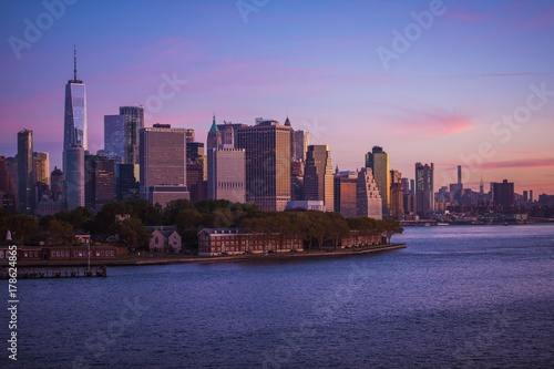 Papiers peints New York Manhattan Skyline New York City