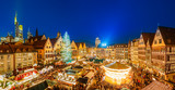 Traditional christmas market in the historic center of Frankfurt, Germany - 178637068