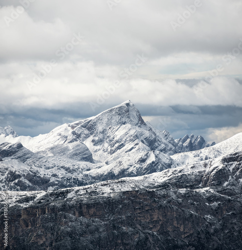 Mountain panorama in the Italy. Beautiful natural landscape in the Italy mountain - 178656626