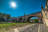 Ponte Sant'Angelo under a bright sun - 178673024
