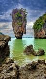 Famous James Bond island in Phang Nga - 178676611