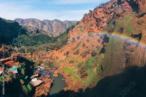 Aluminium Marokko Ouzoud waterfalls