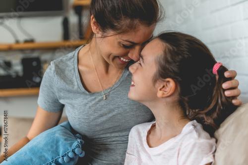 Plakat Enjoying time with my daughter