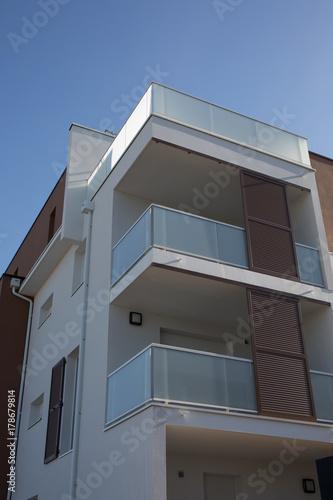 Fototapeta Residential apartment building room living area