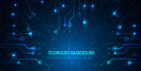 Abstract technological background - 178682432